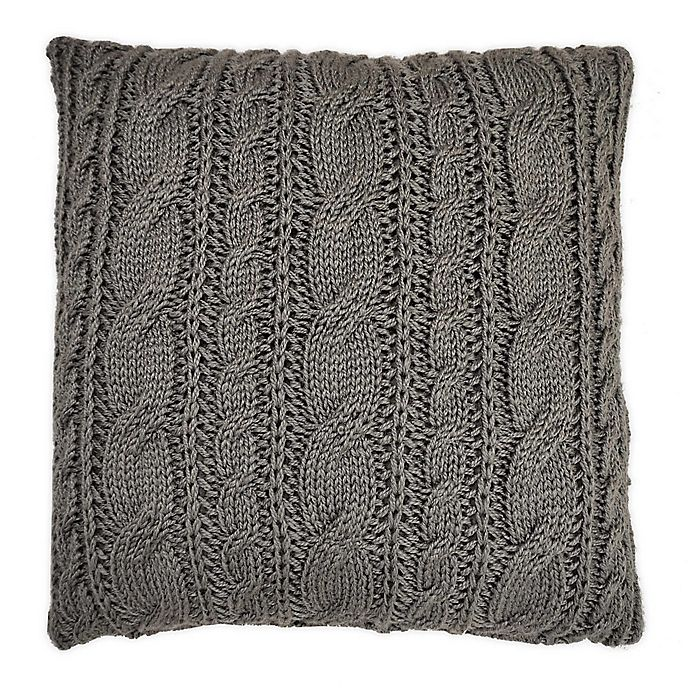 Alternate image 1 for Bee & Willow™ Home Knit Square Throw Pillow