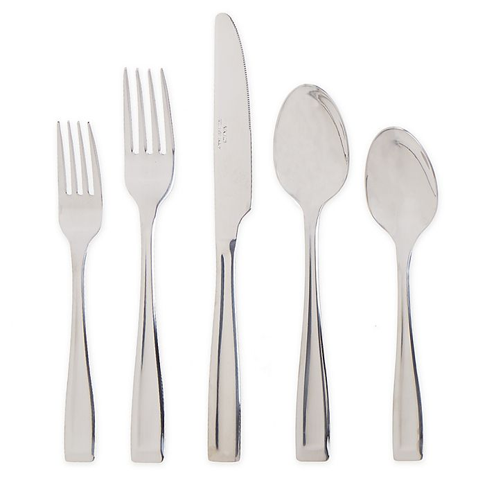 Alternate image 1 for SALT™ Squared Mirror 20-Piece Flatware Set