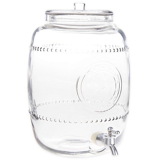 Alternate image 1 for Bee & Willow™ Home Vintage Debossed 2.4-Gallon Drink Dispenser