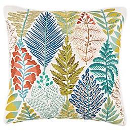 Bee & Willow™ Home Argyle Garden Square Embroidered Throw Pillow