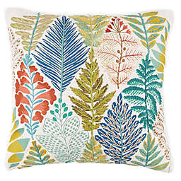 Bee & Willow™ Home Argyle Garden Square Embroidered Throw Pillow