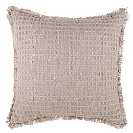 Bee & Willow™ Home Textured Waffle Fringe Throw Pillow