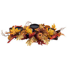 Heritage Home Harvest Centerpiece 3-Light Candle Holder