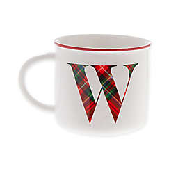 "Bee & Willow™ Home Plaid Monogram Letter ""W"" Mug"
