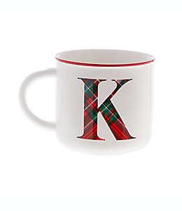 """Taza Bee & Willow™ Home con letra """"K"""""""