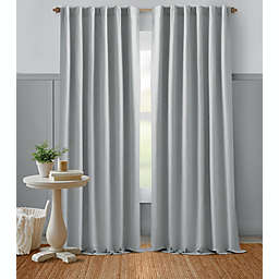 Bee & Willow™ Home Textured Weave Rod Pocket Room Darkening Window Curtain Panel
