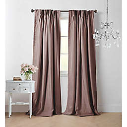 Wamsutta® Vintage Manteux 95-Inch Pinch Pleat Window Curtain Panel in Mauve