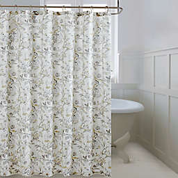 Bee & Wllow™ Home Etched Rose 72-Inch x 72-Inch Shower Curtain in Yellow
