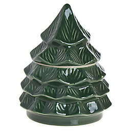 Bee & Willow™ Home Christmas Tree Candy Dish in Green