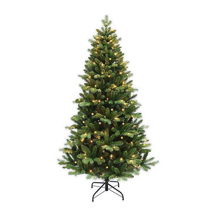 Alternate image 1 for 6-Foot Pre-Lit Christmas Tree