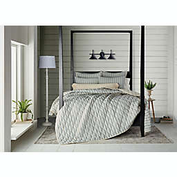 Bee & Willow™ Home Quarry Stripe 3-Piece Full/Queen Quilt Set in Grey/Natural