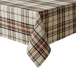 Bee & Willow™ Home Tartan 60-Inch x 120-Inch Tablecloth in Ivory