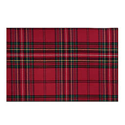 Bee & Willow™ Home Festive Plaid Placemats in Red (Set of 2)