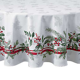Bee & Willow™ Home Holiday Berries 70-Inch Round Tablecloth