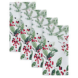 Bee & Willow™ Holiday Berries Napkins (Set of 4)