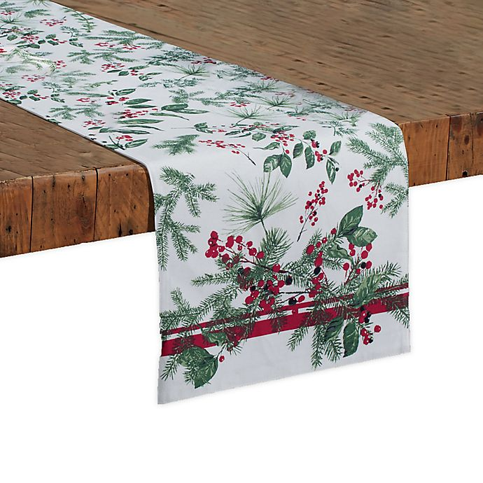 Alternate image 1 for Bee & Willow™ Home Holiday Berries Table Runner