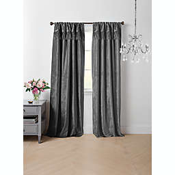Wamsutta® Vintage Lepuy 95-Inch Rod Pocket Light Filtering Window Curtain Panel in Pearl
