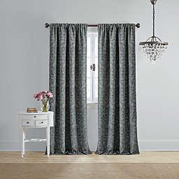 Wamsutta® Vintage Michelet 108-Inch Rod Pocket Room Darkening Curtain Panel in Grey