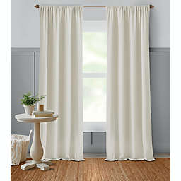 Bee & Willow™ Home Dotted Lines 63-Inch Window Curtain Panel in Neutral