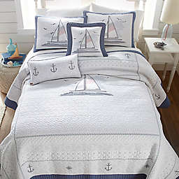Donna Sharp® Yacht Club Quilt in White