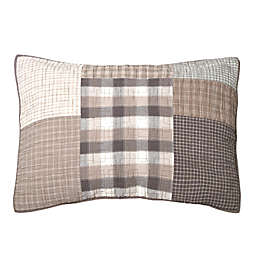 Donna Sharp Smoky Square Pillow Sham in Beige