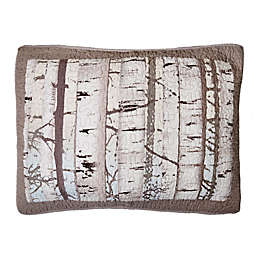 Donna Sharp® Birch Forest Standard Pillow Sham in White