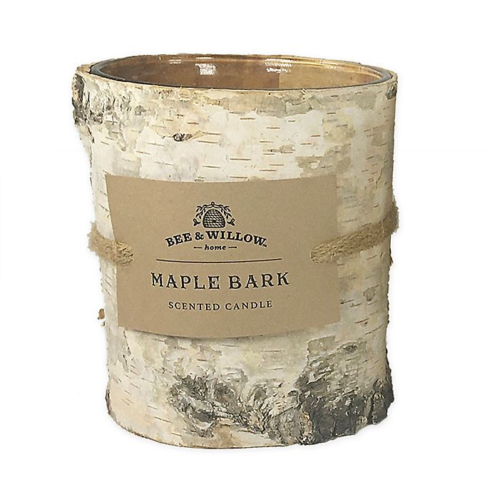 Alternate image 1 for Bee & Willow™ Maple Bark Cylinder Candle