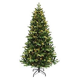 6-Foot Pre-Lit Christmas Tree