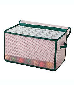 Caja de almacenamiento Winter Wonderland para 112 adornos