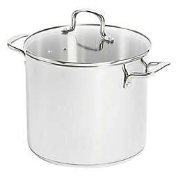 SALT™ 12 qt. Stainless Steel Covered Stock Pot