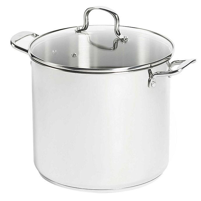 Alternate image 1 for SALT™ 16 qt. Stainless Steel Covered Stock Pot