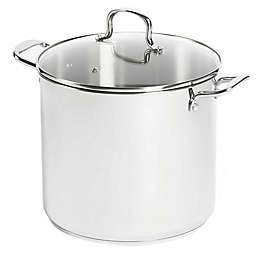 SALT™ 16 qt. Stainless Steel Covered Stock Pot