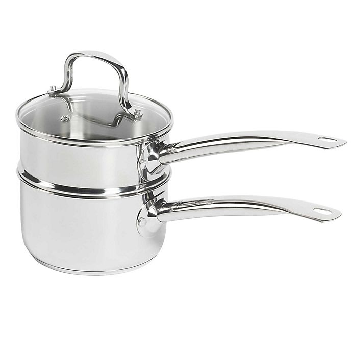 Alternate image 1 for SALT™ 2 qt. Stainless Steel Double Boiler