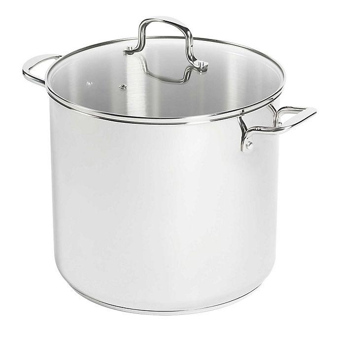 Alternate image 1 for SALT™ 20 qt. Stainless Steel Covered Stock Pot