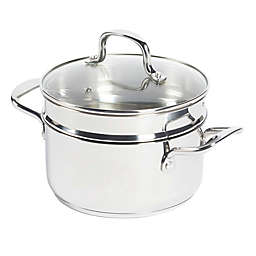 SALT™ 3 qt. Stainless Steel Covered Soup Pot