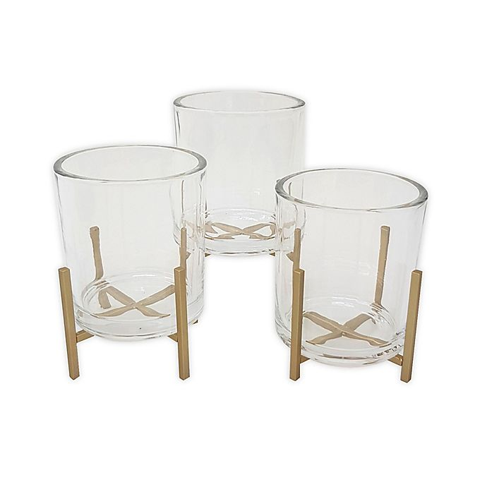 Alternate image 1 for O&O by Olivia & Oliver™ Triple Cup Cosmetic Organizer