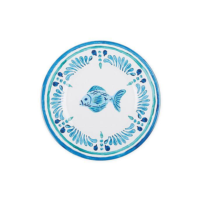 Alternate image 1 for Fish Medallion Melamine Salad Plate