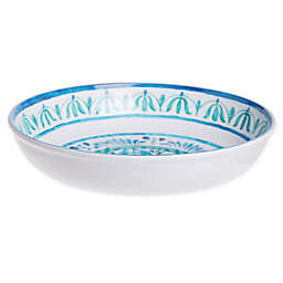 Destination Summer Fish Medallion Melamine Salad Bowl