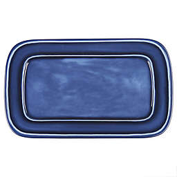 Bee & Willow™ Home Rectangular Platter in Blue