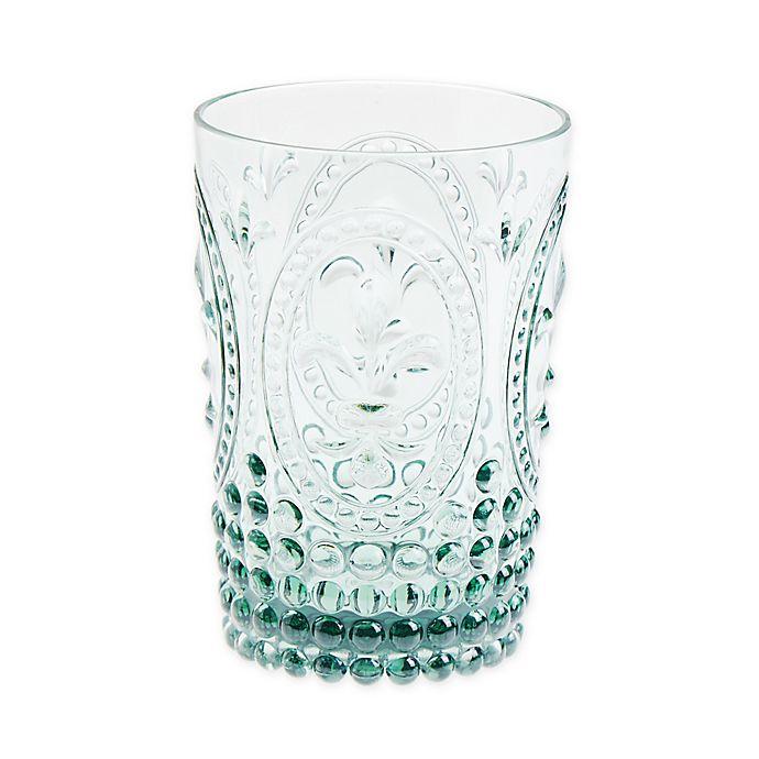 Alternate image 1 for Destination Summer Vintage Embossed Double Old Fashioned Glass