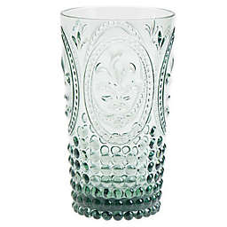 Destination Summer Vintage Embossed Highball Glass