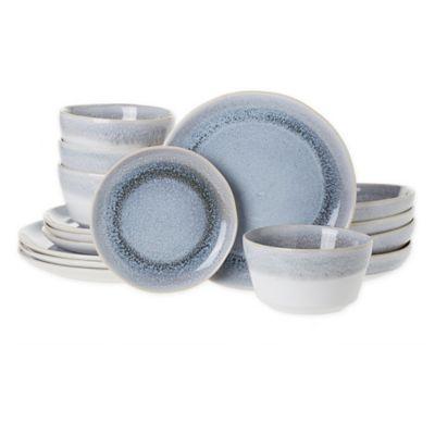 Salt Round Coupe 16 Piece Dinnerware Set In White Bed Bath Beyond