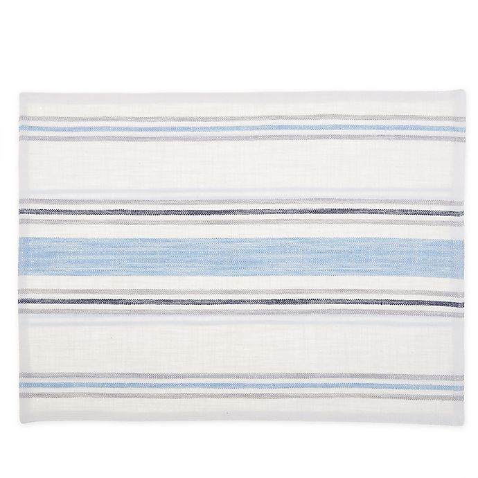 Alternate image 1 for Bee & Willow™ Home Multi Stripe Reversible Placemats (Set of 4)