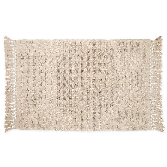 Alternate image 1 for Bee & Willow™ Home Sculpted Dot Bath Rug