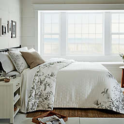 Bee & Willow™ Gardens 3-Piece Duvet Cover Set in Khaki/Grey