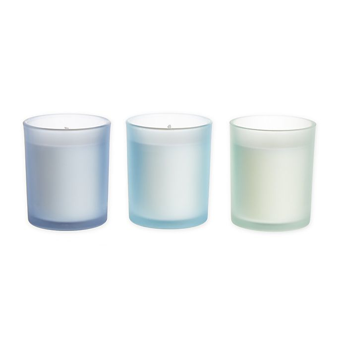 Alternate image 1 for Bee & Willow™ Alpine Chamomile 3.5 oz. Spring Glass Candles (Set of 3)