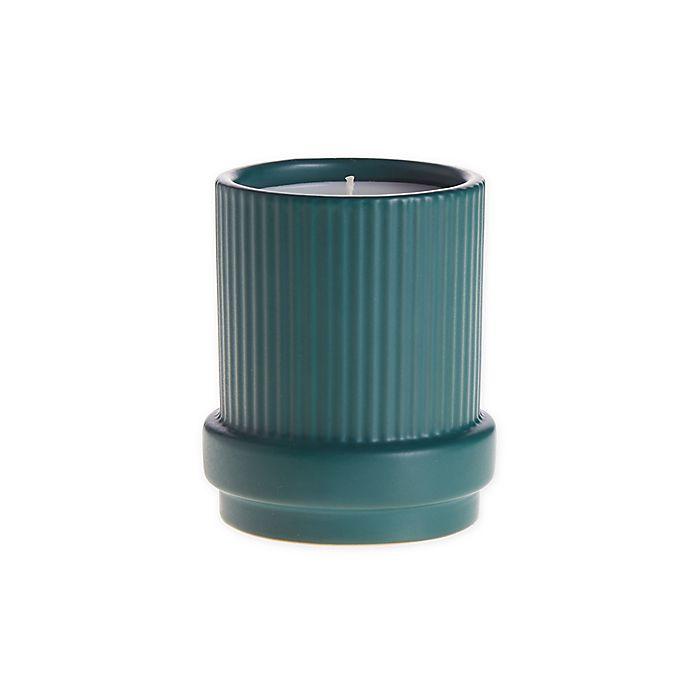 Alternate image 1 for O&O by Olivia & Oliver™ Eucalyptus 14 oz. Solid Fluted Jar Candle