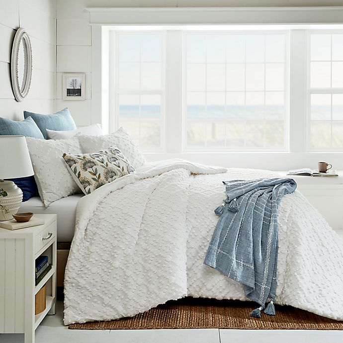 Alternate image 1 for Bee & Willow™ Home Woven Diamonds 3-Piece Comforter Set