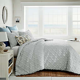 Bee & Willow™ Woven Diamonds 3-Piece King Duvet Cover Set in Grey