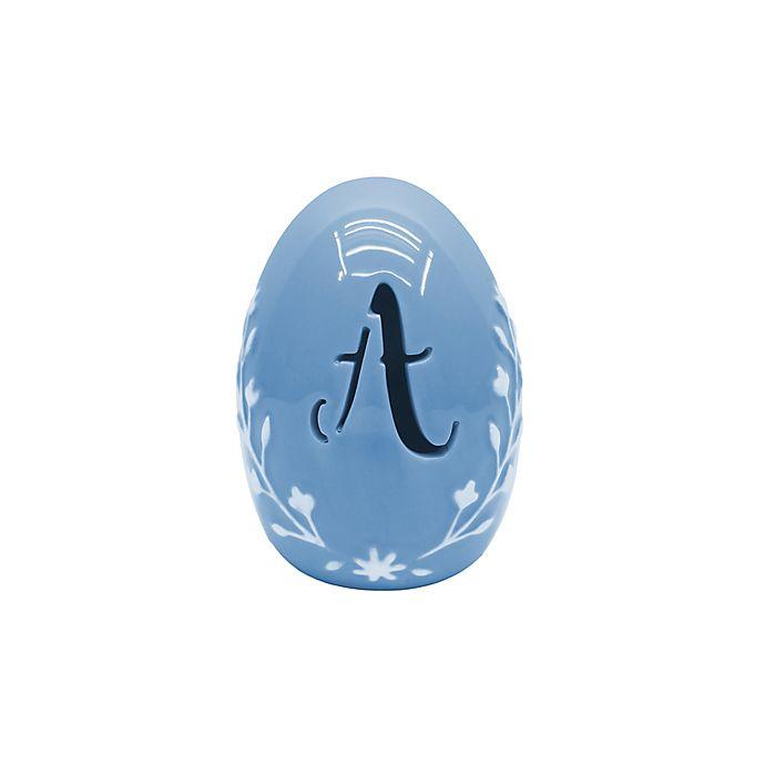 Alternate image 1 for LED Monogram Ceramic Easter Egg